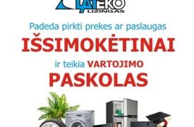 Lateko lizingas - Paskolos, prekės ir paslaugos išsimokėtinai